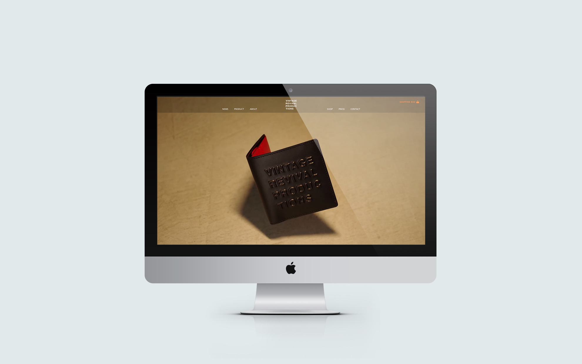 革製品Webサイト